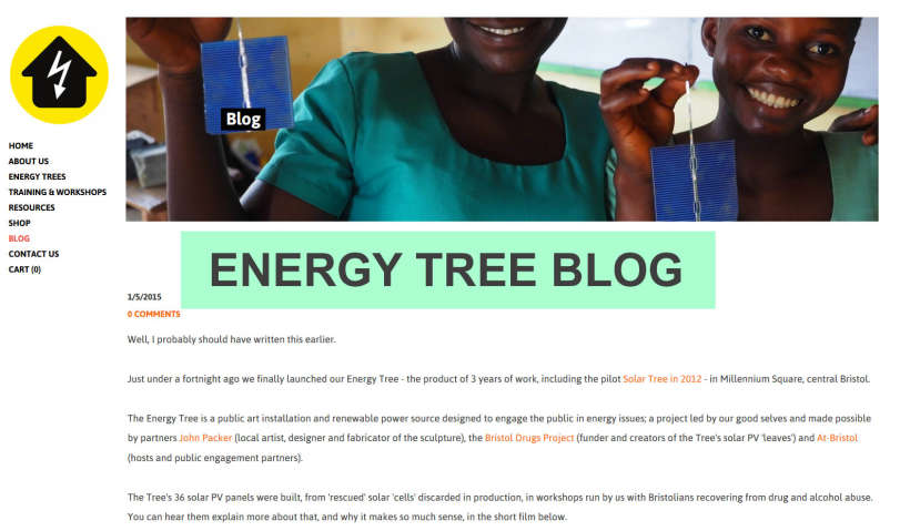 solar energy tree blog